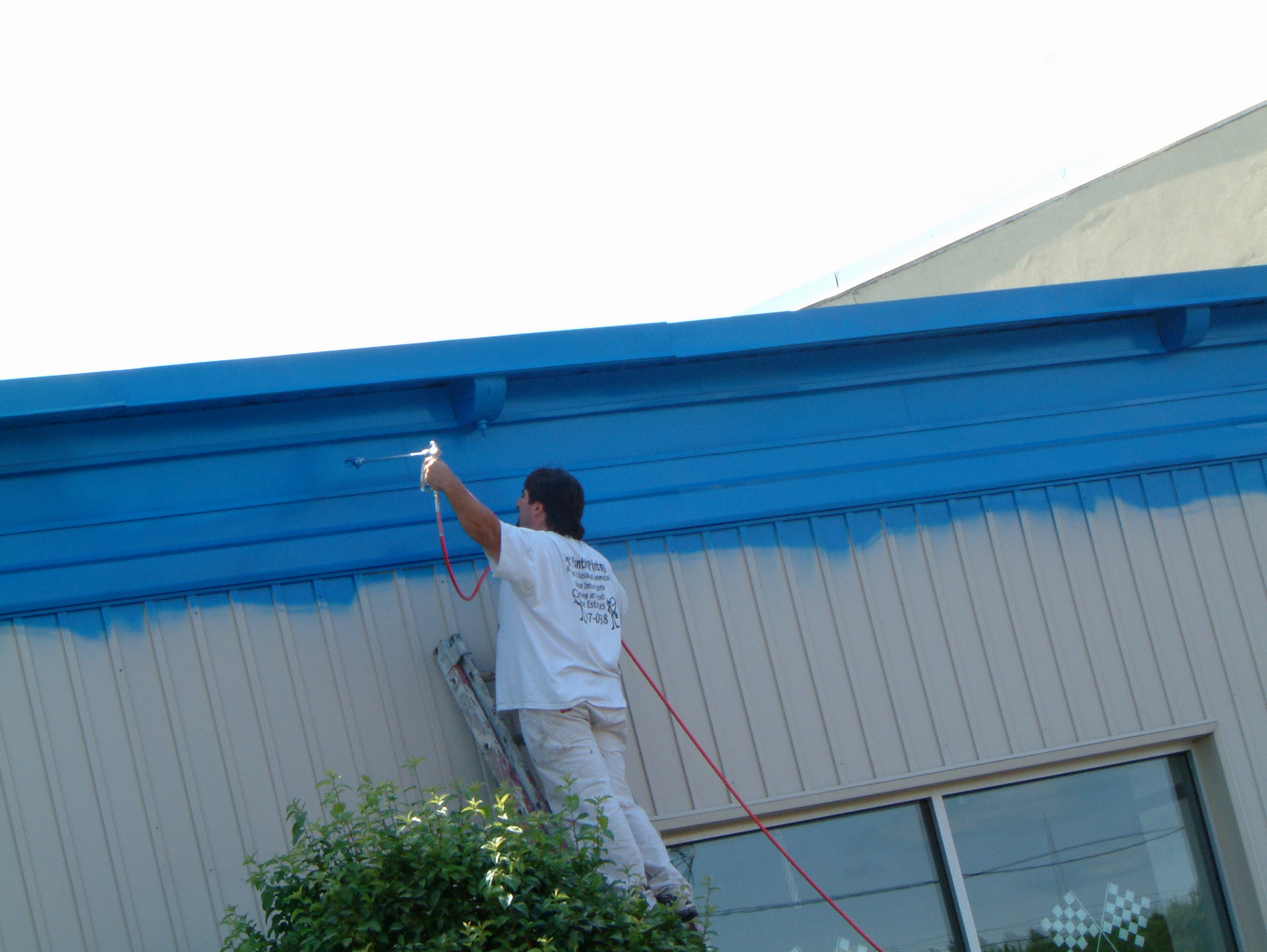 Commercial painting contractor Utica